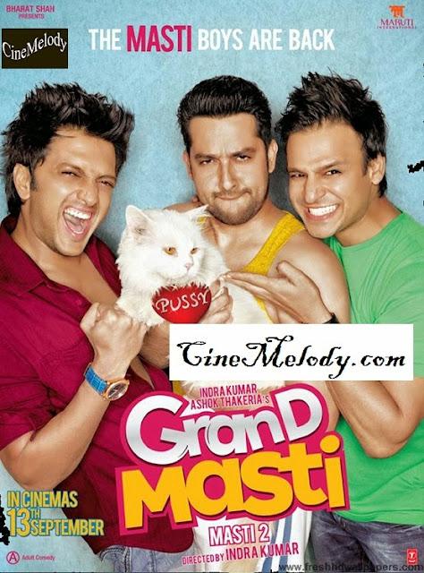 Grand Masti Hindi Mp3 Songs Free  Download  2013