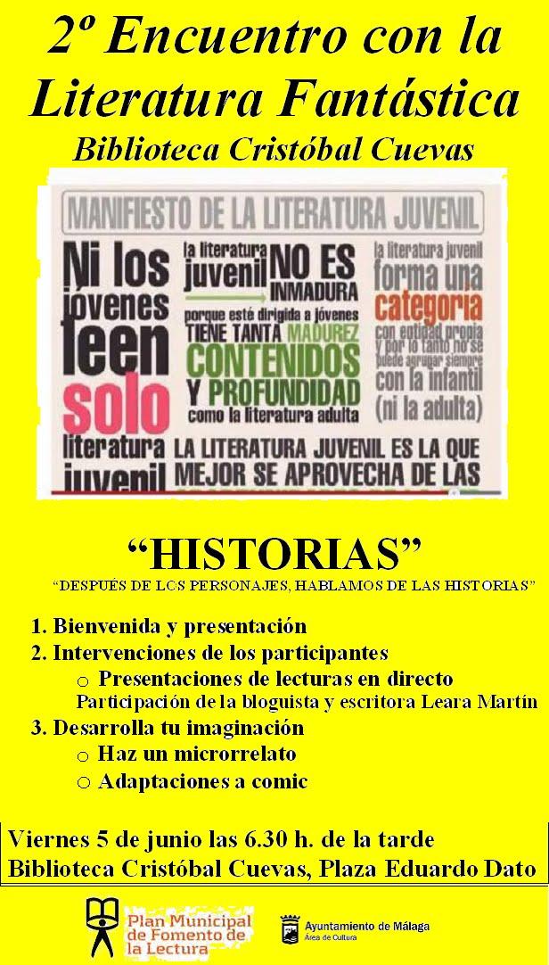 2º Encuentro de Literatura Fantástica Juvenil.