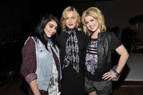 Kelly Osborne, Madonna e Lola (Lourdes Maria)