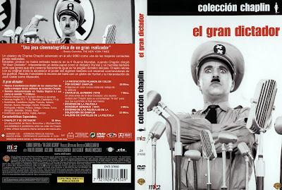 El Gran Dictador 1940 | Caratula | Charlot | Cine clásico