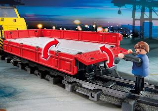 Playmobile RC Freight Train