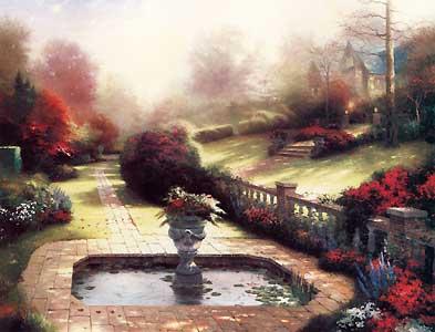 Thomas Kinkade Autumn Gate5