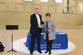 Montgomery Catholic Preparatory School's Holy Spirit Campus Receives National FBI SOS Cyber Certificate 1