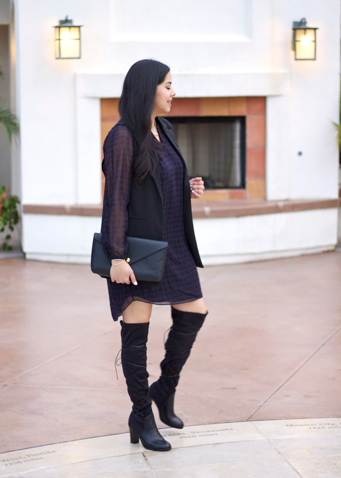 Black over the knee boots, shoedazzle rayne boots, shoe dazzle over the knee boots, cool lace up boots