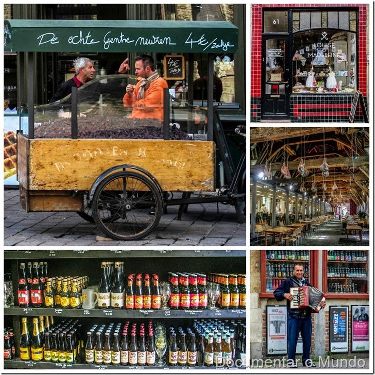 Produtos Tradicionais de Gent; Flandres; Bélgica; Gent Top 5