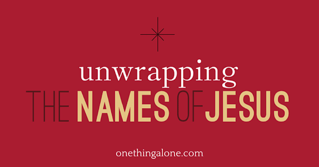 Unwrapping the Names of Jesus is an Advent devotional for women who want more from the season than holiday parties, hors d'oeuvres, and a new leather purse. You want a deeper walk with Jesus. You want to know Him and touch Him. You want to find rest in Him and talk with Him.