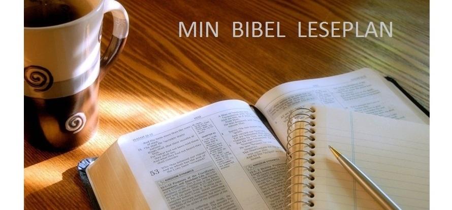 Min bibelleseplan
