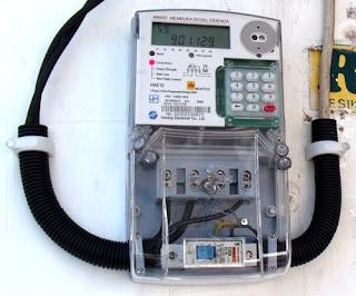 Cara menggunakan meteran listrik digital