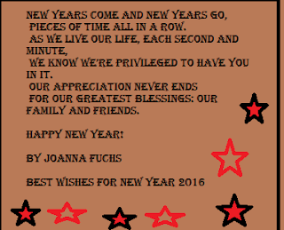 happy new year poems in english