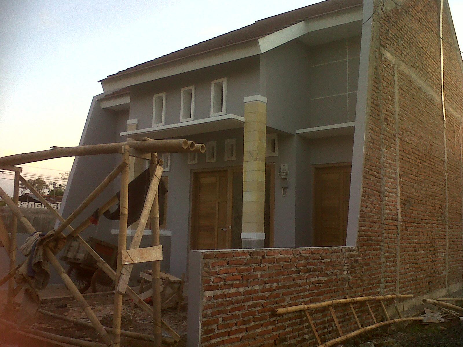 Proses Rumahku: Rumah Contoh Tampak Luar