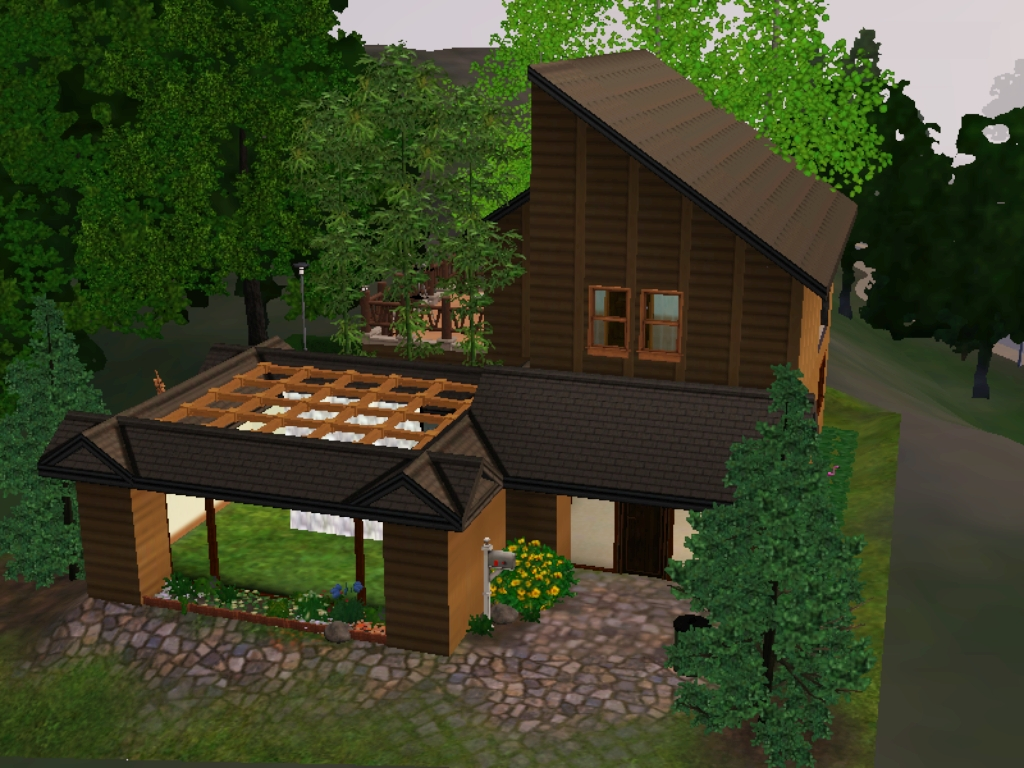 Gweenkent the sims 3 home design 3 for Sims 4 exterior design