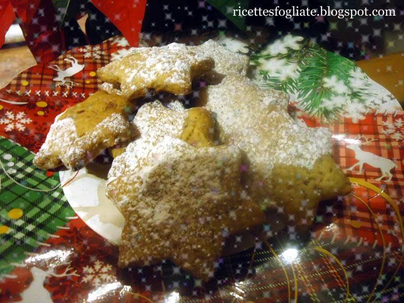 biscotti zenzero, cannella, nocciole e cioccolato