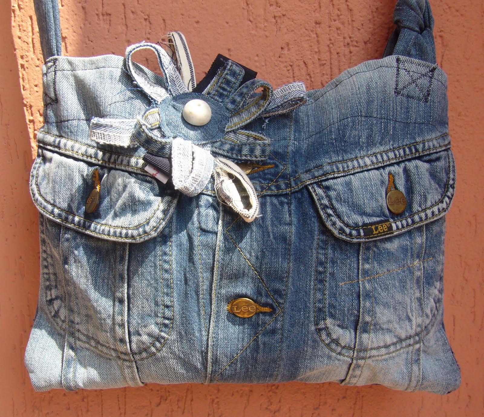 Fior di anna riciclando borse di jeans for Borse fai da te jeans