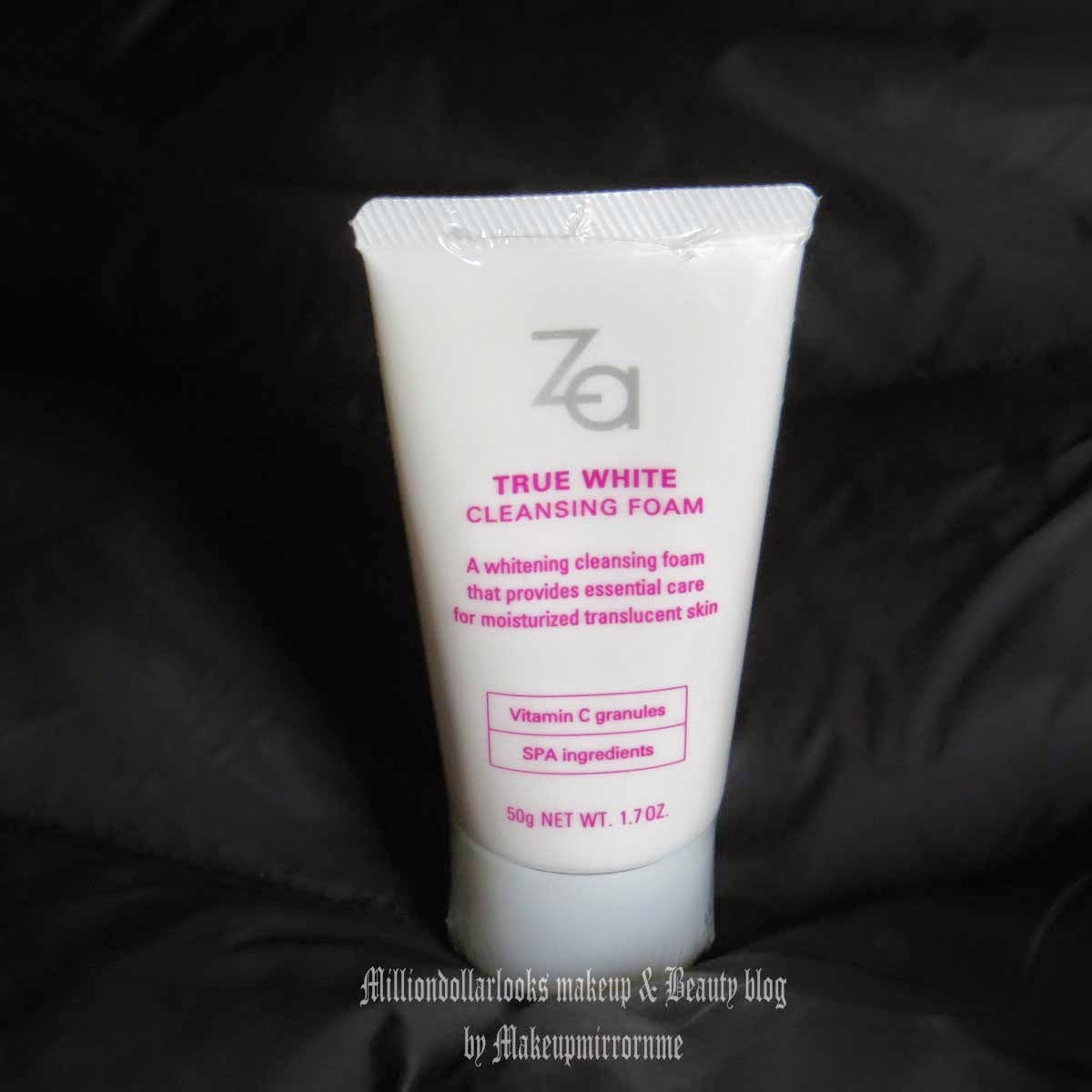 Za True White Cleansing Foam Review, Price & Pictures, Za skincare range review, Za face wash review, Za skincare products review India, Indian beauty blogger, Indian makeup and beauty blog, Top beauty blogs in India, Best products of Za, Za review India, Best whitening face wash, Best brightening face wash, Face wash for all skin type, Face wash for dry skin, Whitening products in India, remove melanin