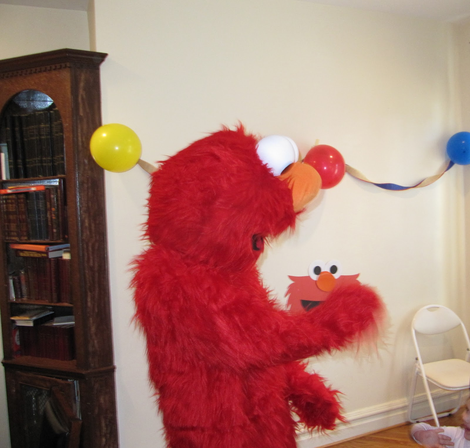 Jewish Homeschool in NYC Elmo Birthday Party