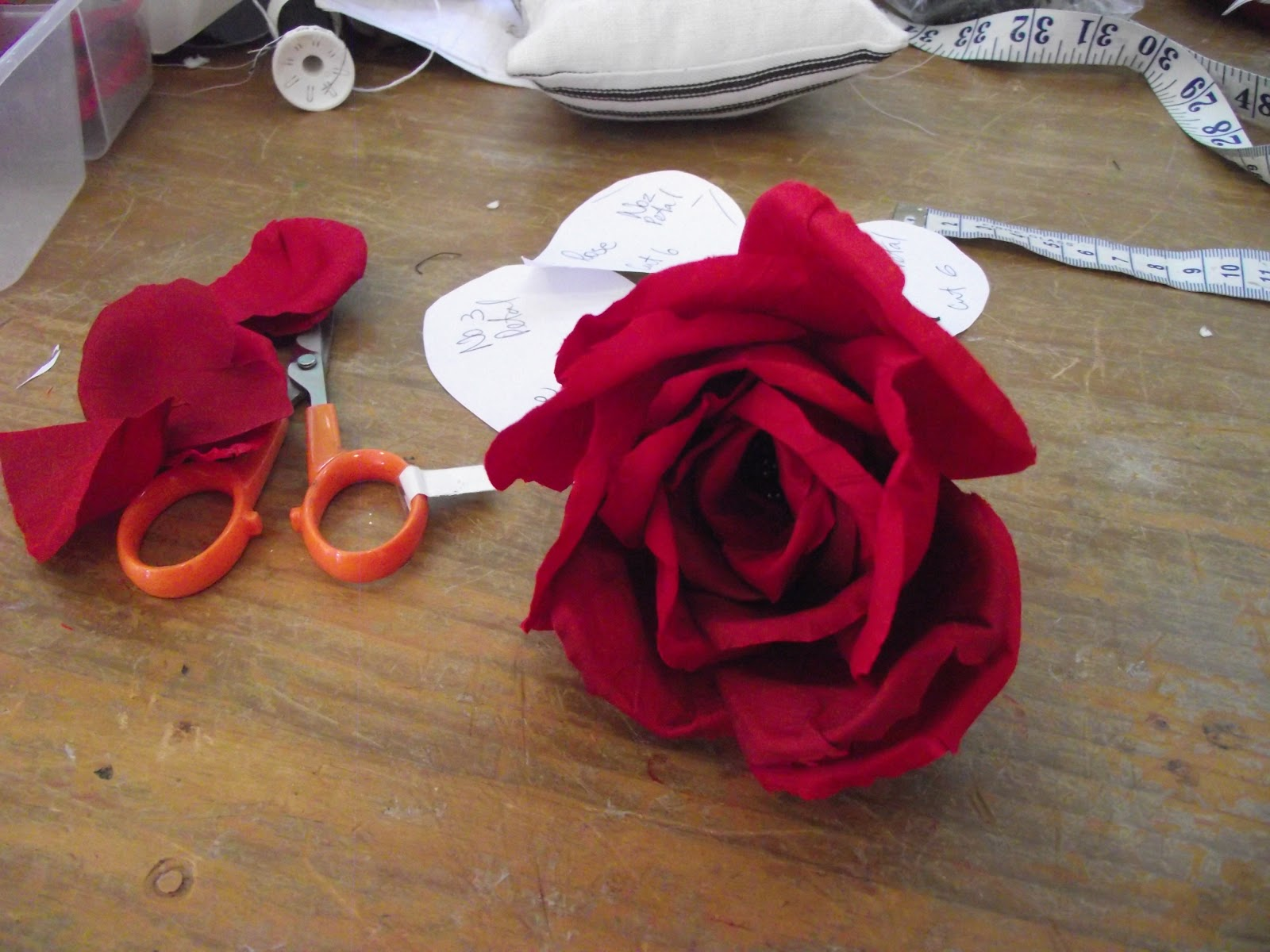 Love Hats How To Make Silk Flowers The Rose