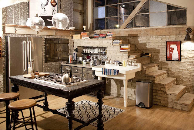 Kate Beckett's Kitchen