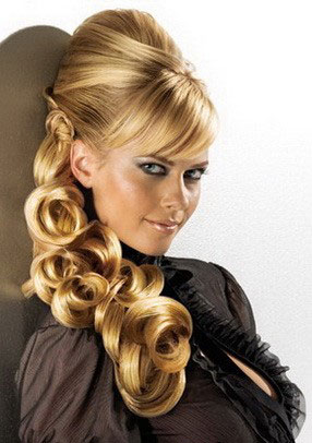 Love Hairstyles: Options hairstyles for New Year\'s Eve 2013