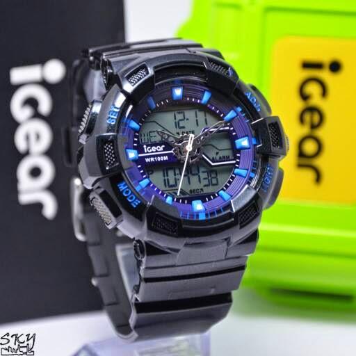 I GEAR I02 Original hitam biru