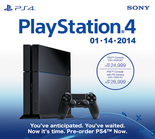 Sony PlayStation 4, PS4