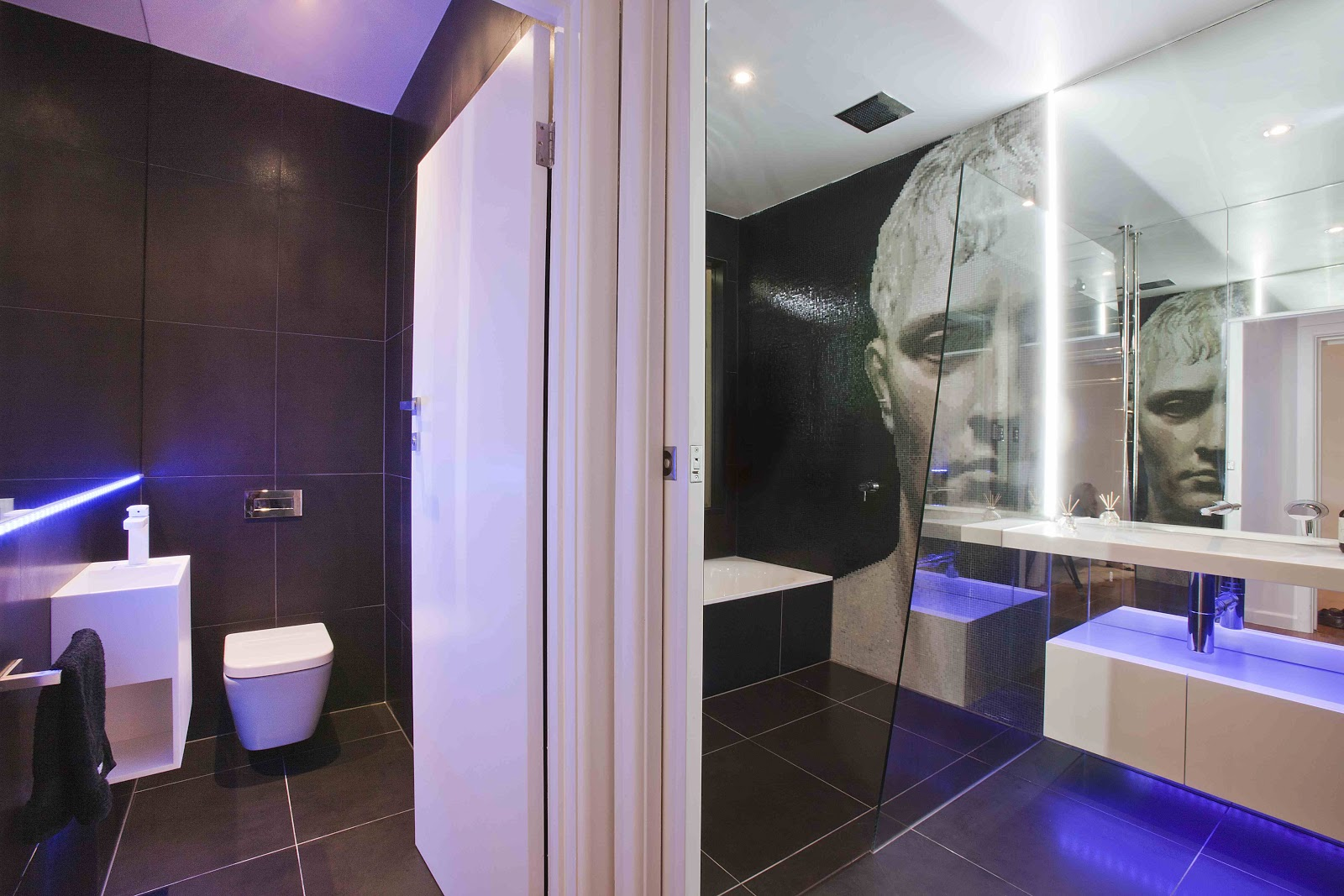 Minosa a modern seamless bathroom with true wow factor mozeypictures Images