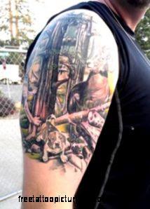 Tattoos on Pinterest  Hunting Tattoos Ocean Tattoos and Elk Tattoo