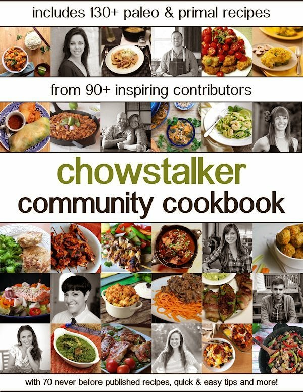 Take a look, I'm in a Book: Chowstalker Community Cookbook (Available as part limited-time Primal Life Kit)