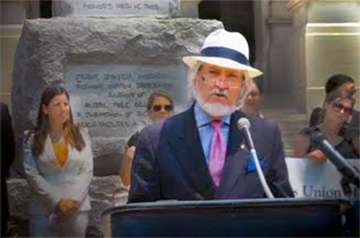 Speaking at ACLU Press Conference at the State Capitol on HB 87