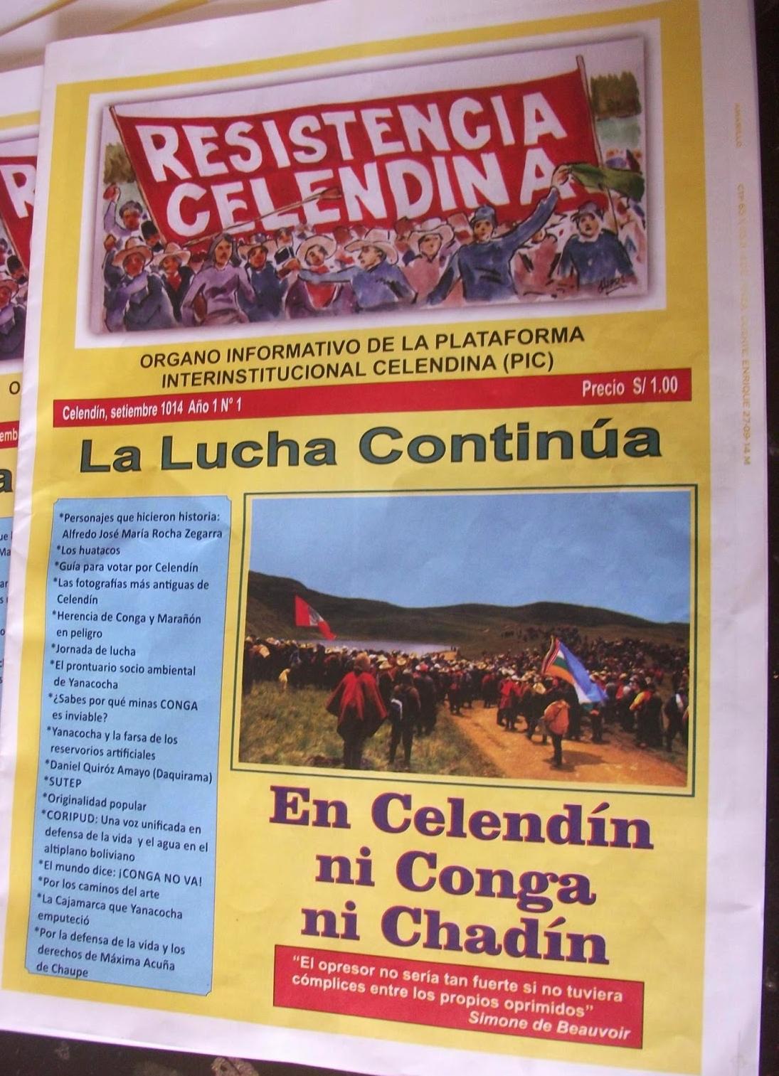 Revista RESISTENCIA CELENDINA