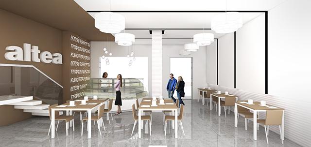 La importancia del render arquitect nico en el proceso de - Diseno de interiores heladerias ...