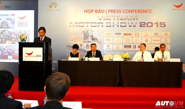 Khởi động Vietnam Motor Show 2015