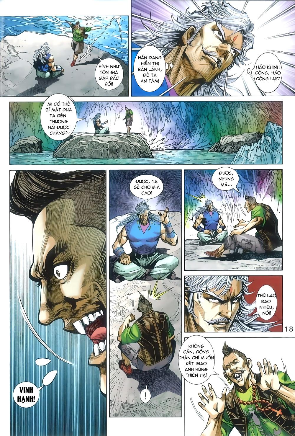 Tân Tác Long Hổ Môn chap 805 Trang 18 - Mangak.info