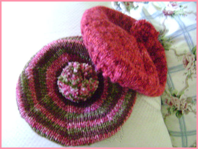 Como hacer boina de lana con dos agujas imagui - Como hacer calcetines de lana a dos agujas ...