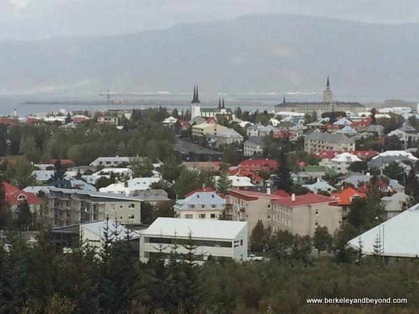 city view of Reykjavik, Iceland