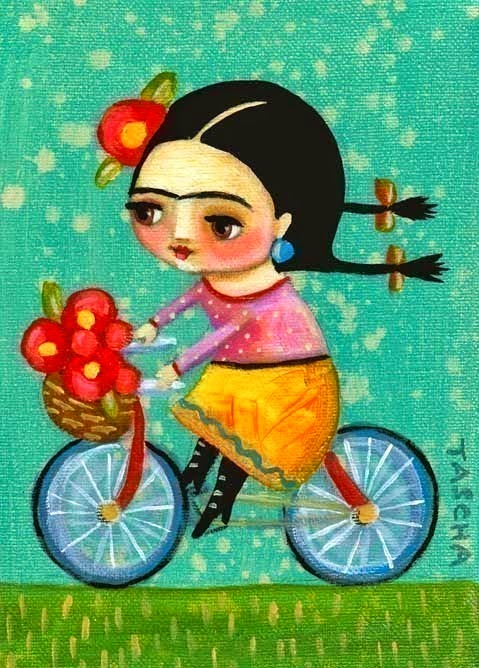 https://www.etsy.com/hk-en/listing/158452316/frida-kahlo-on-her-red-bicycle-print-of