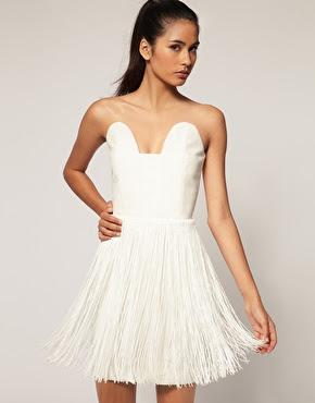 Aqua Flapper Dress photos
