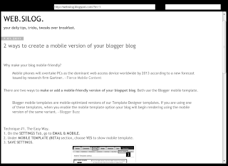 blogger mobile on online ipad emulator