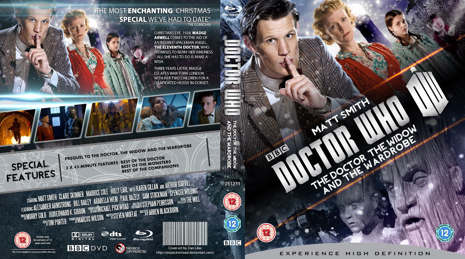 Capa Bluray Doctor Who The Doctor, The Window And The Wardrobe