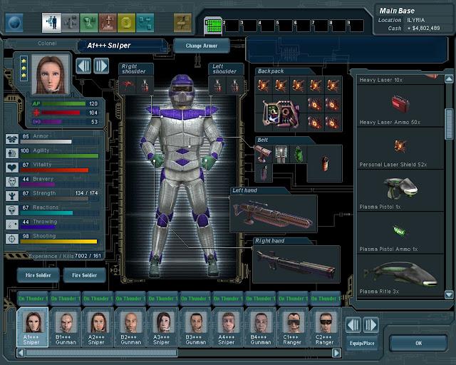 UFO: Extraterrestrials - Energy Shields Screenshot