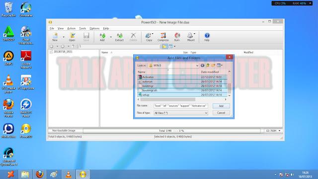 Cara Membuat Bootable USB dengan PowerISO
