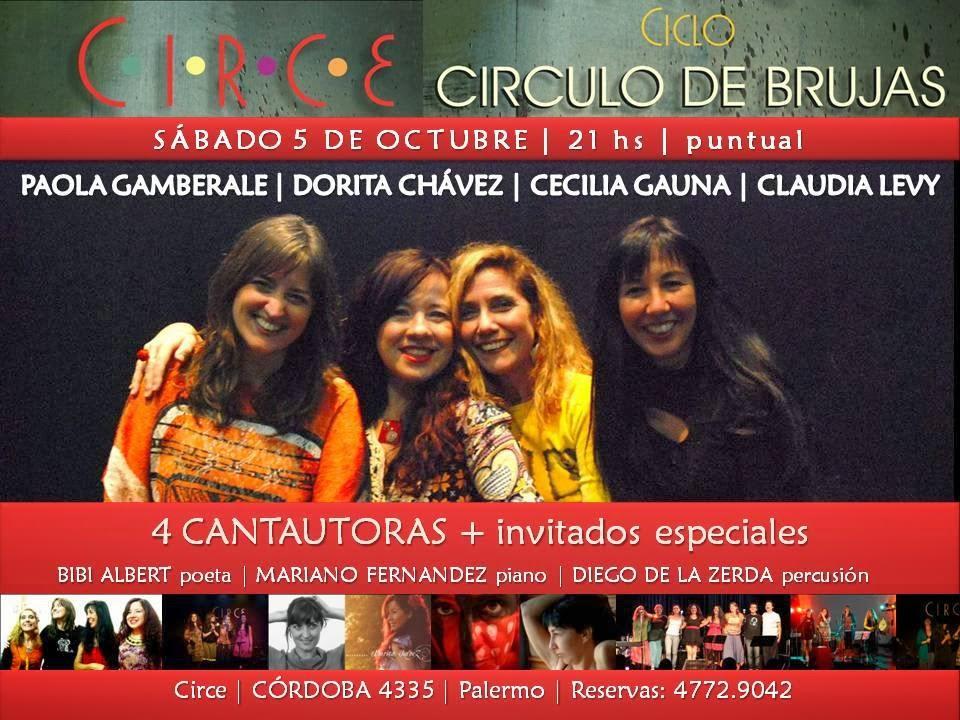 El circulo de Brujas en Circe