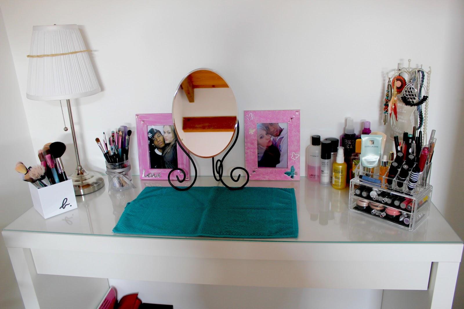 the beauty addict mon rangement make up. Black Bedroom Furniture Sets. Home Design Ideas