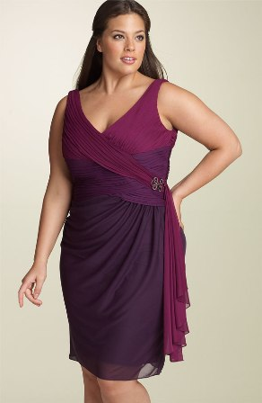 Size  Dress on Latest Fashionable Dresses  Pick Plus Sized Dresses That Is Flattering