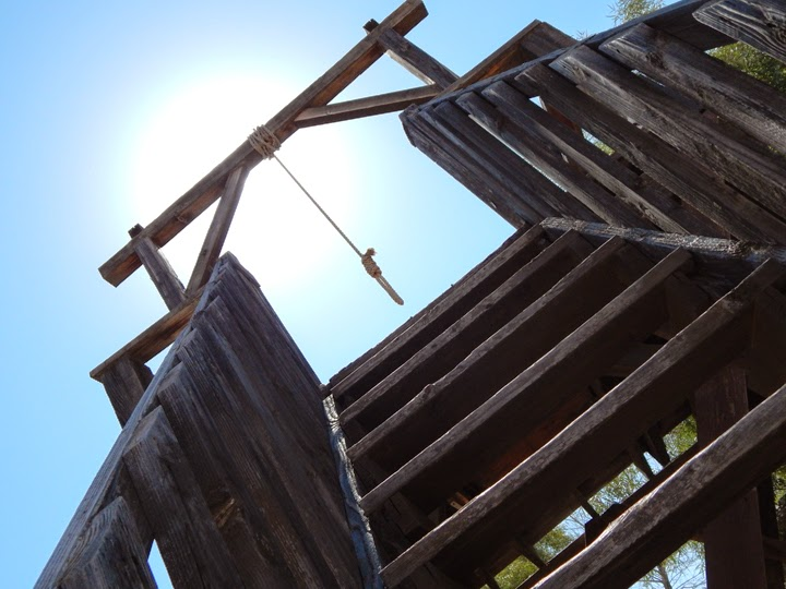 gallows at Old Tucson Studios