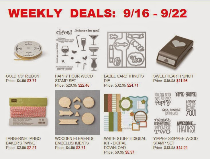 Stampin'UP!'s Sale of the Week
