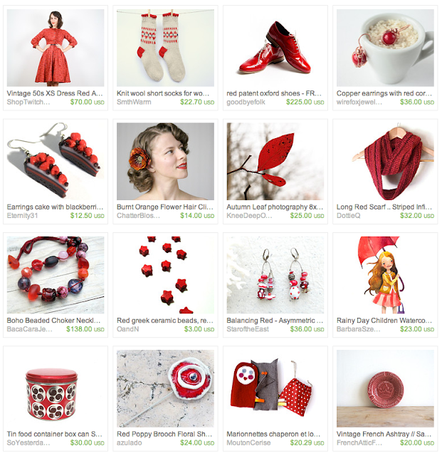 Autumn Gift Guide on Etsy #fall #autumn #red #october #gifts