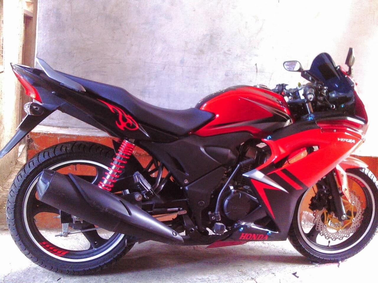 full fairing Modifikasi Verza