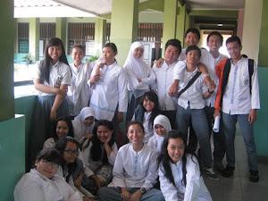 with my friends XII IPS 1 SMAN 63 JAKARTA