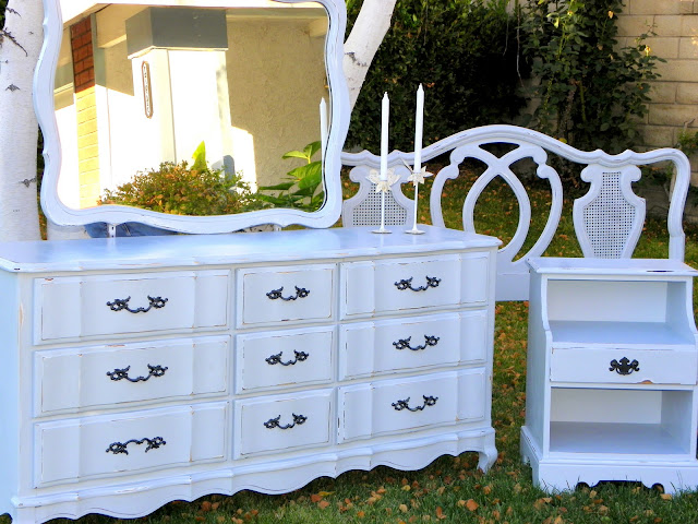 Painting French Provincial Bedroom Furniture