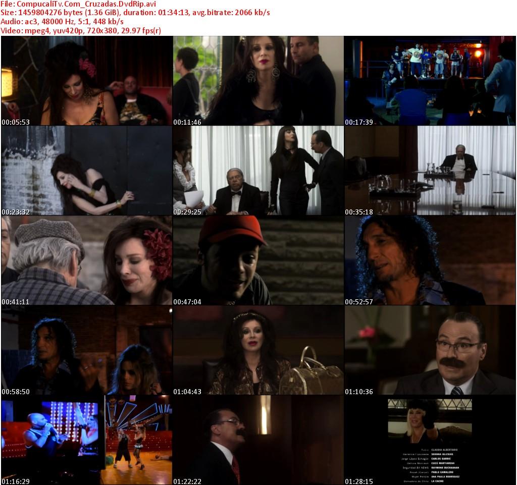 Capturas Cruzadas [DVDRip]